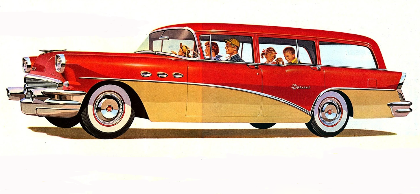 1956 Buick Special Wagon, Classic Ads From 1956