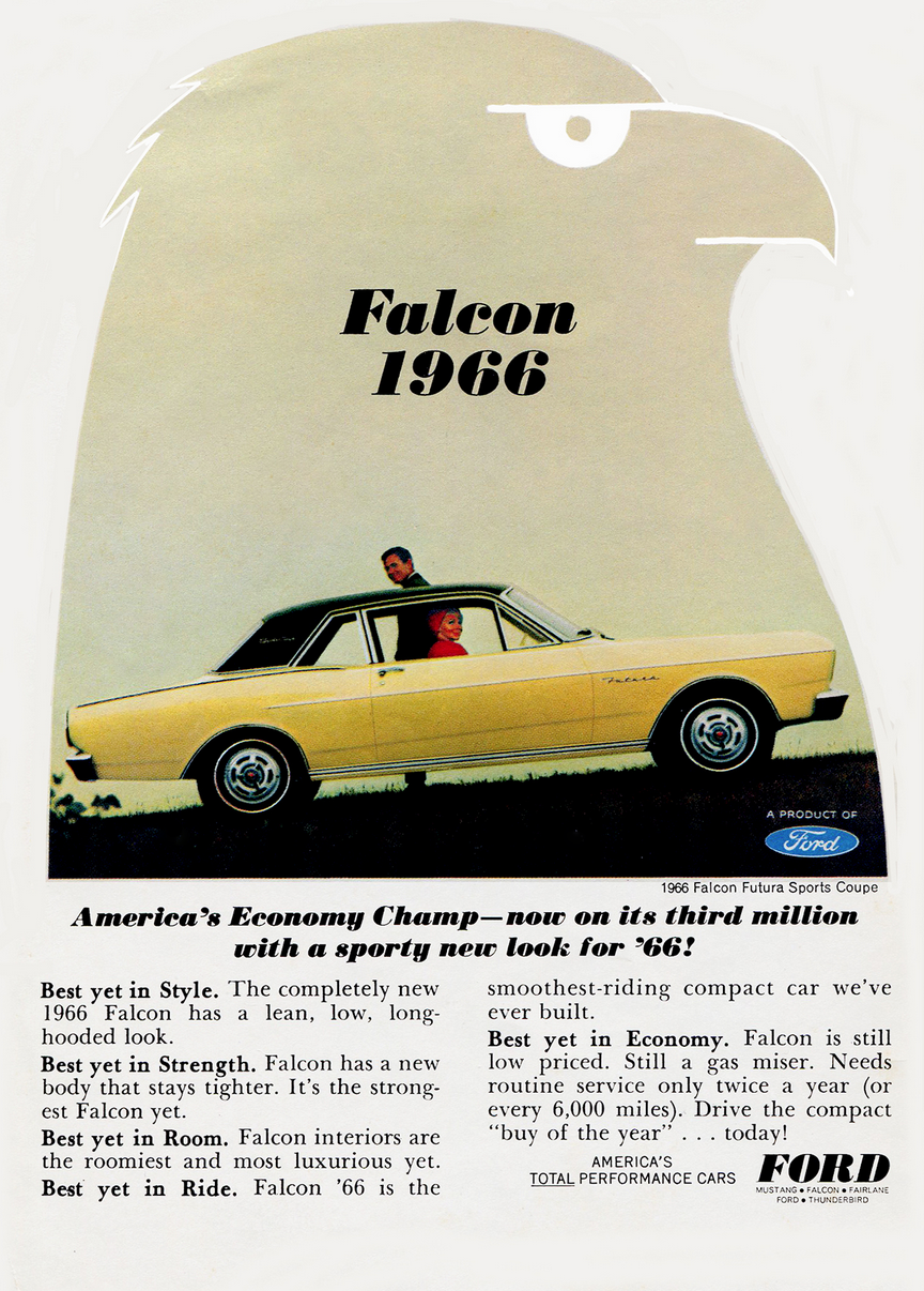 1966 Ford Falcon Ad