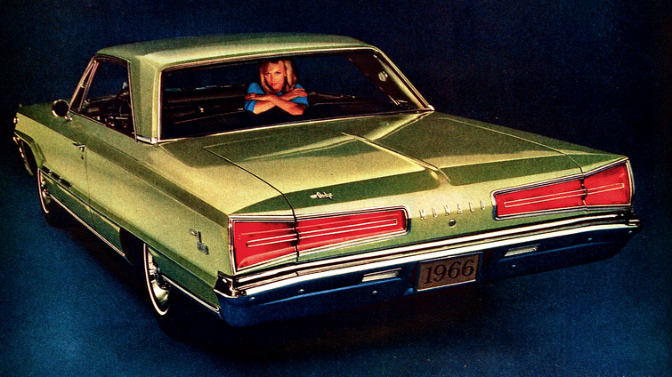1966 Dodge Monaco, Classic Ads From 1966