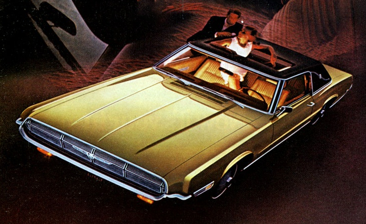 1969 Thunderbird Landau, American Coupes of 1969