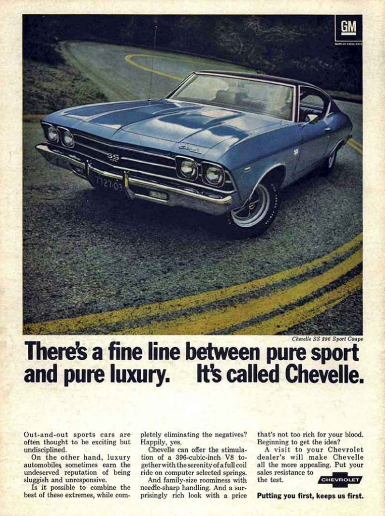 Model-Year Madness! 10 Classic Ads From 1969 | The Daily ...