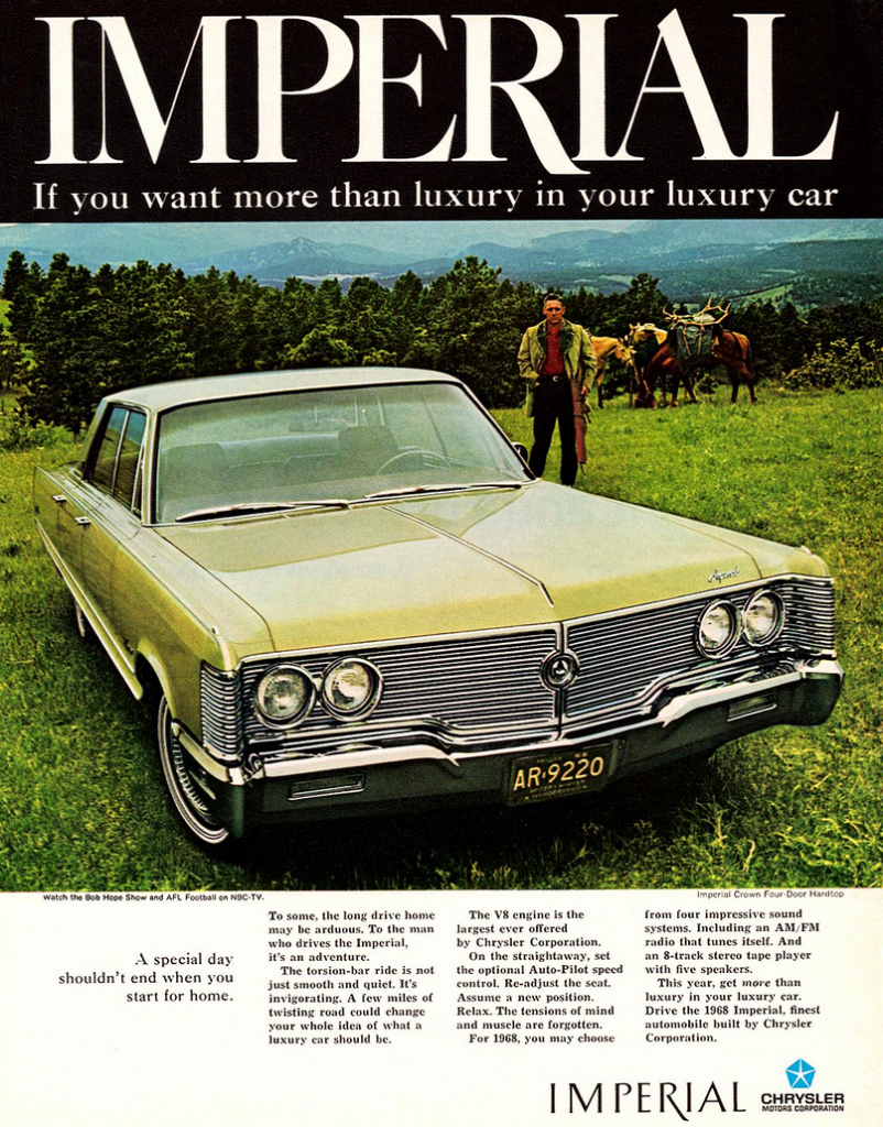 1968 Imperial Ad