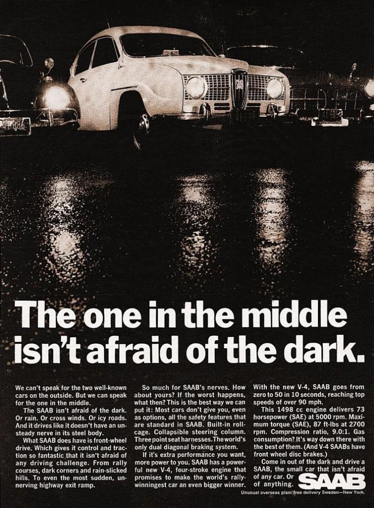 1968 Saab Ad