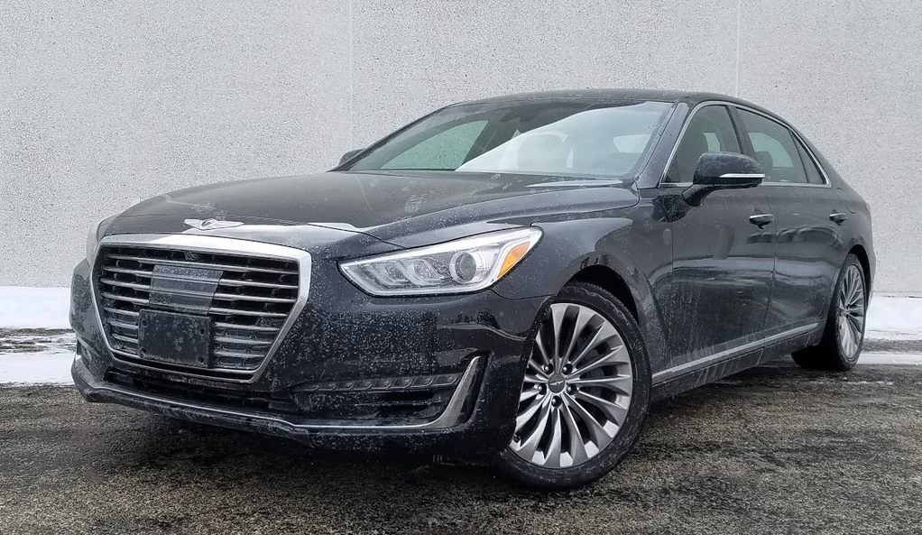 Test Drive 2017 Genesis G90 5 0 Ultimate The Daily