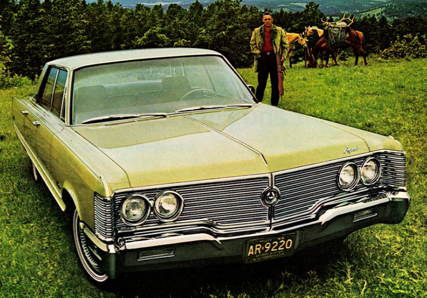 1968 Imperial, Classic Ads From 1968