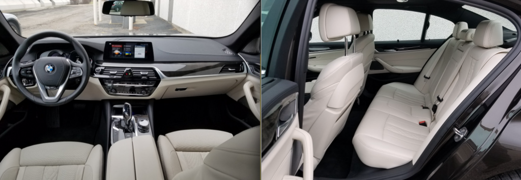 2017 BMW 5-Series Cabin