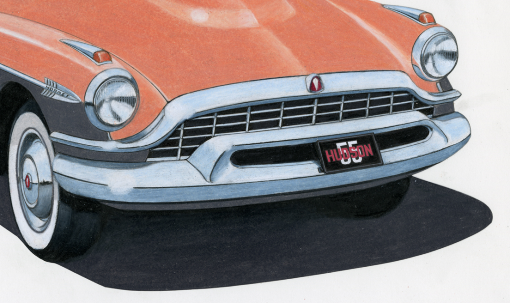 1955 Hudson, by Citroen, 1955 Hudson Drawings