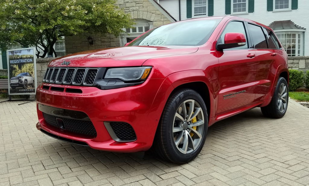 2018 Jeep Grand Cherokee Trackhawk, Grand Cherokee Trackhawk Walk-around
