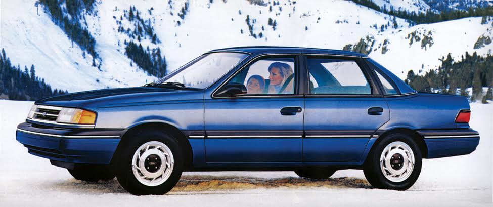 1987-91 Ford Tempo All Wheel Drive