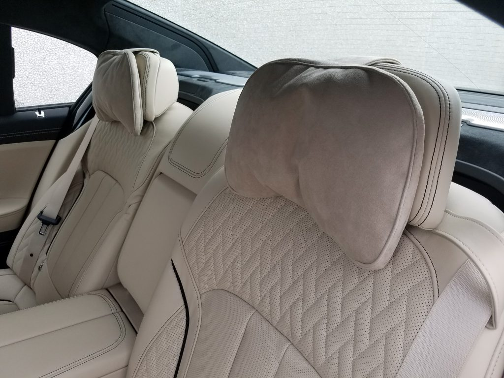 Alcantara Headrest