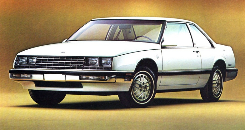 1986 Buick LeSabre Coupe, The Buicks of 1986