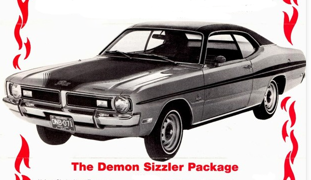 1971 Dodge Demon Sizzler, Classic Ads From 1971