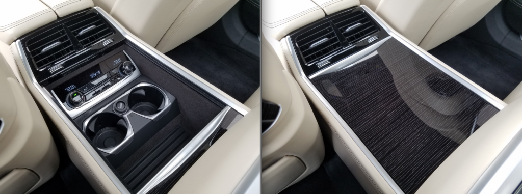 BMW 7-Series 4-place seating