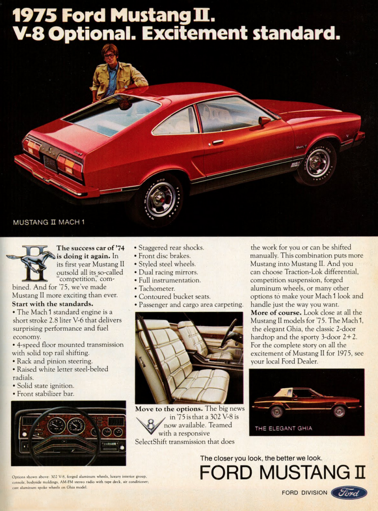 Mustang Mach 2 >> Pony-Car Madness! 10 Classic Mustang Ads | The Daily Drive ...