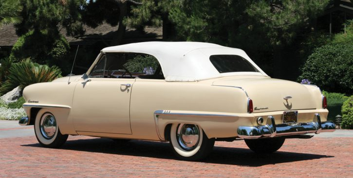 1953 Plymouth Cranbrook convertible