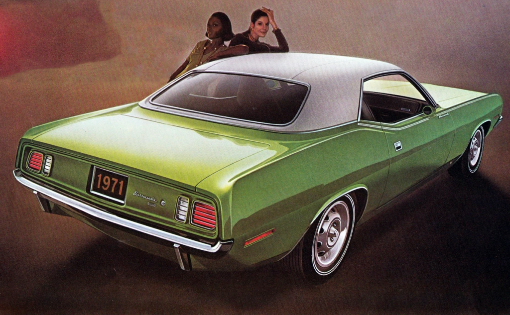 1971 Plymouth Barracuda, Fastest Cars of 1971