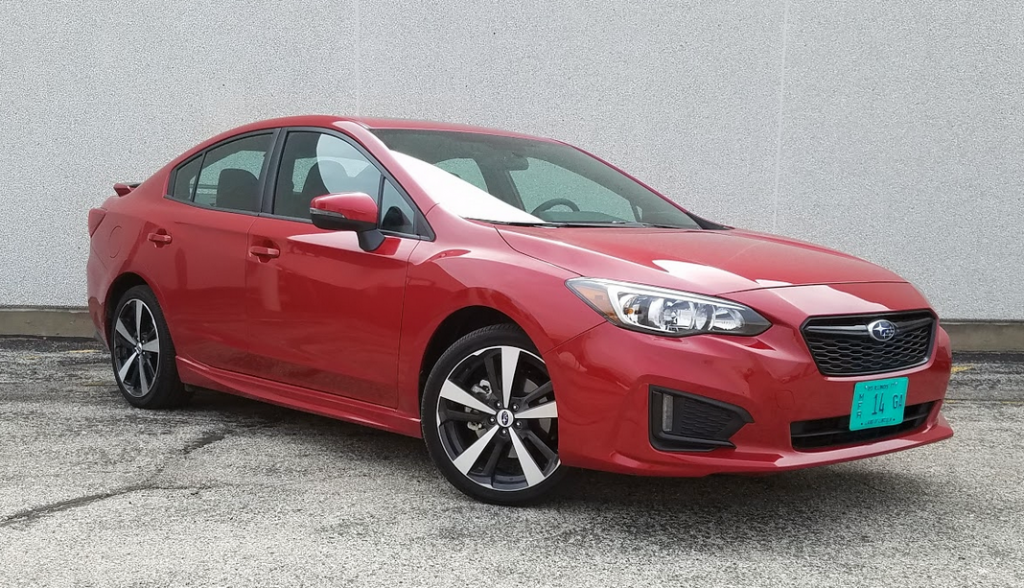 2017 Subaru Impreza 2.0i Sport in Lithium Red Pearl