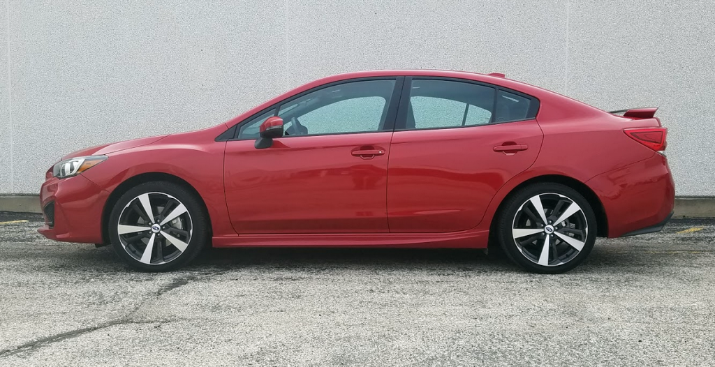 2017 Lithium Red Impreza, profile