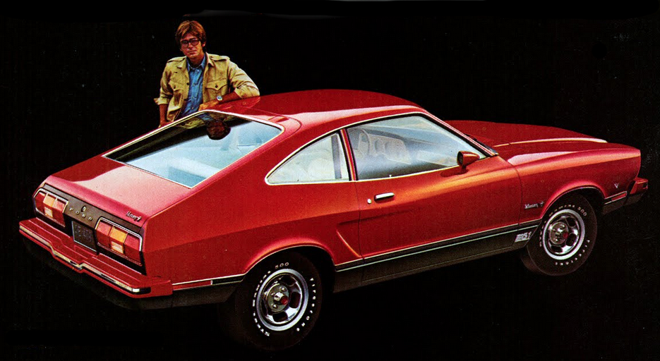 1975 Ford Mustang II Mach 1, Classic Mustang Ads