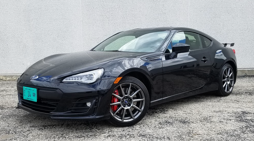 Test Drive 2017 Subaru Brz Limited In Crystal Black Silica