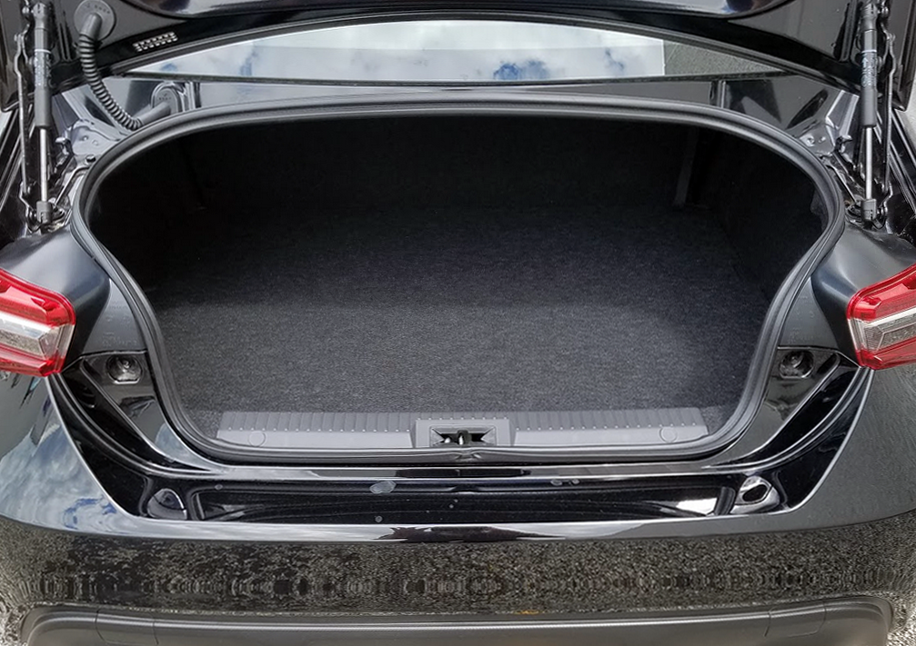 BRZ Trunk Space