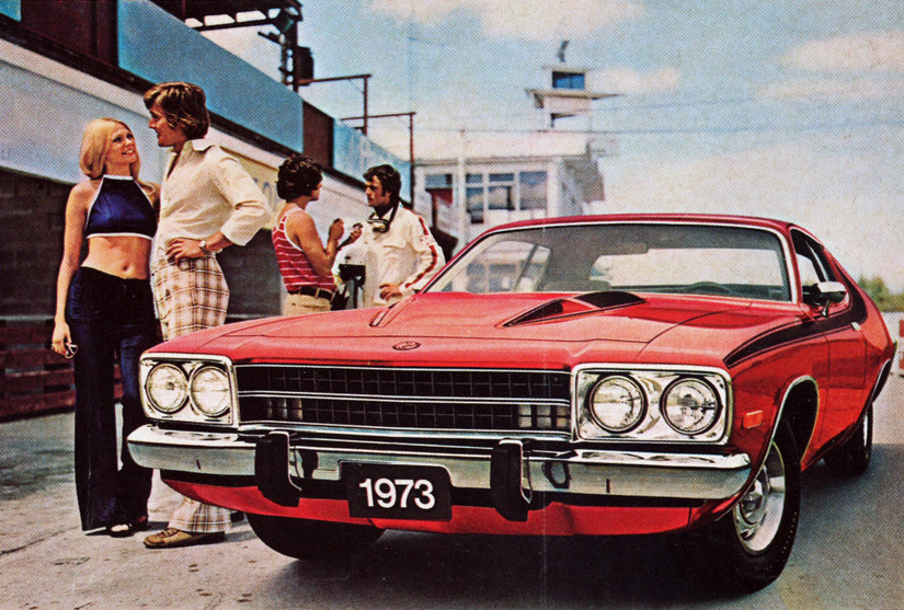 1973 Plymouth Road Runner, Coupe Ads From 1973