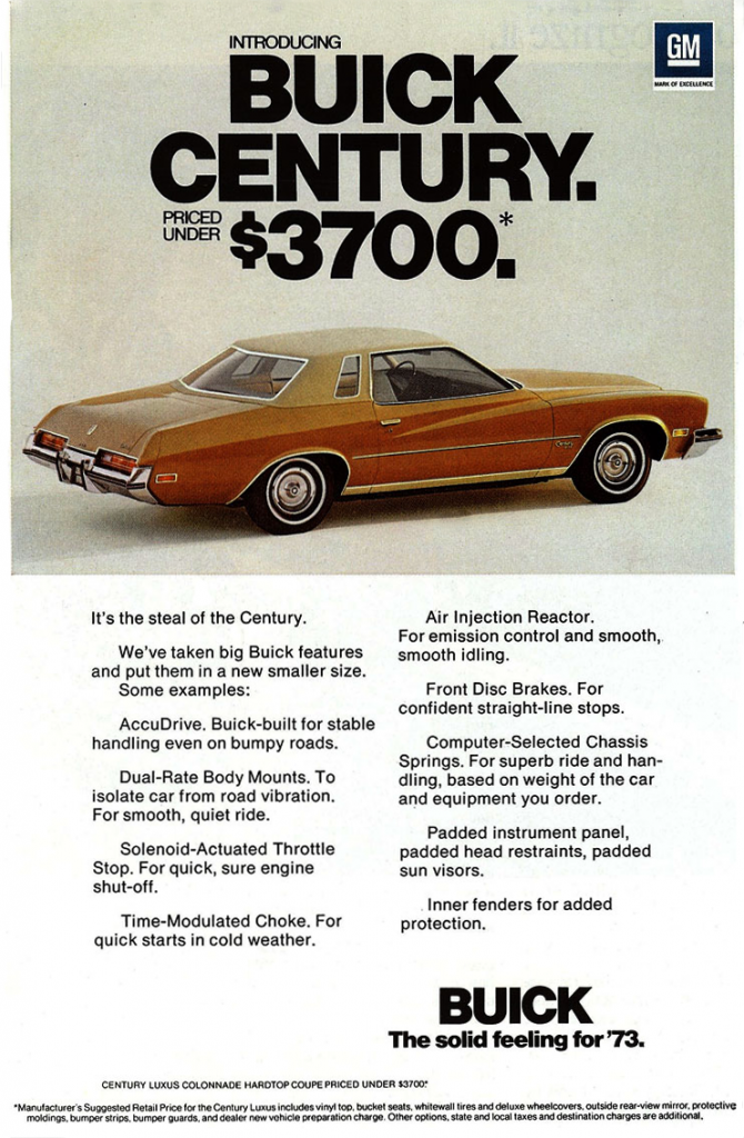 Model-Year Madness! 10 Classic Coupe Ads From 1973 | The