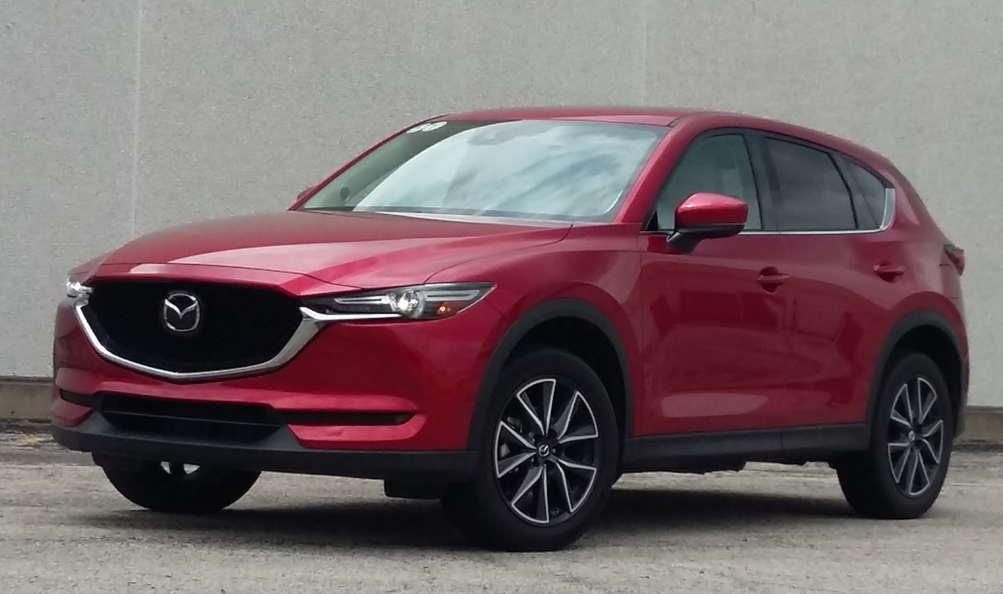 2017 Mazda Cx 5 Grand Touring In Soul Red Crystal Metallic A 595 Option