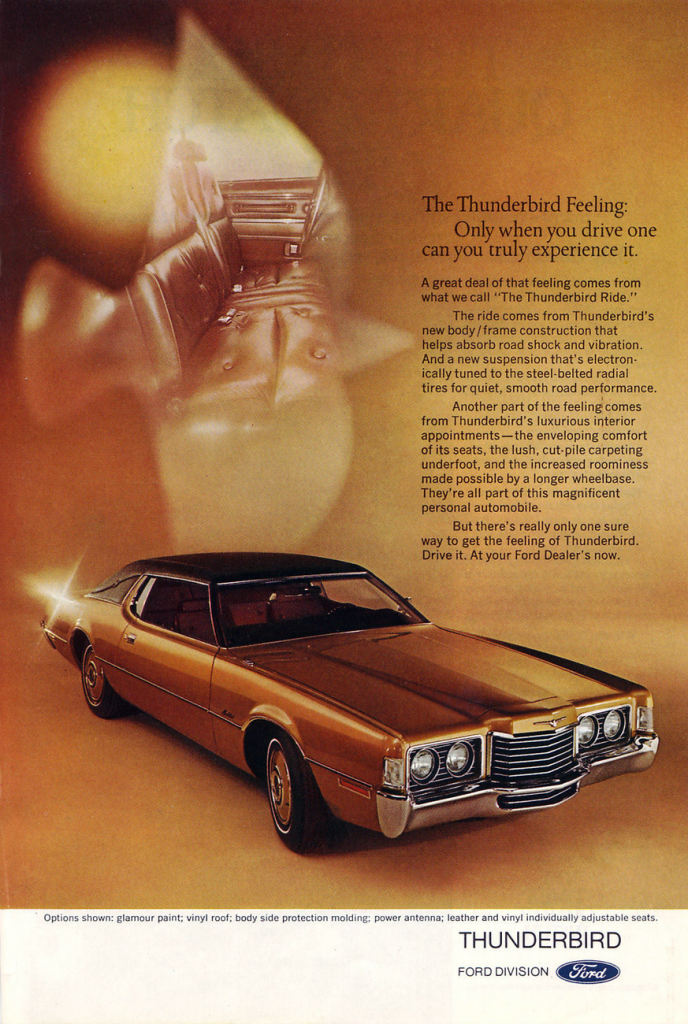 1972 Ford Thunderbird Ad