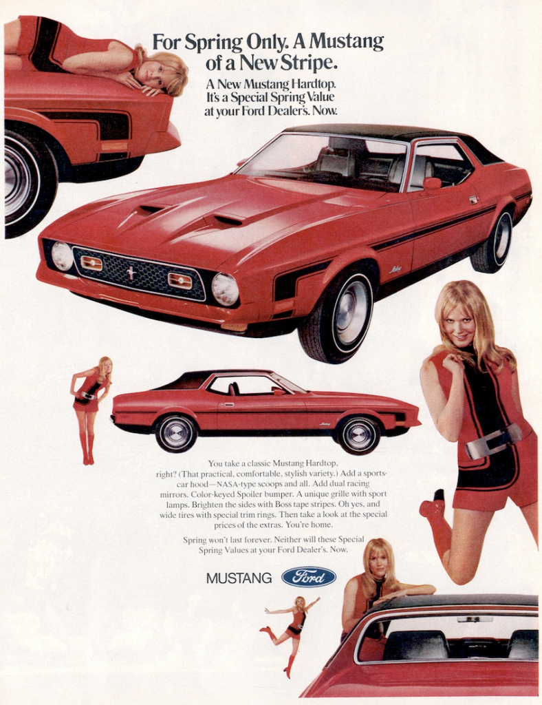 1971 Ford Mustang Special Spring Value Edition