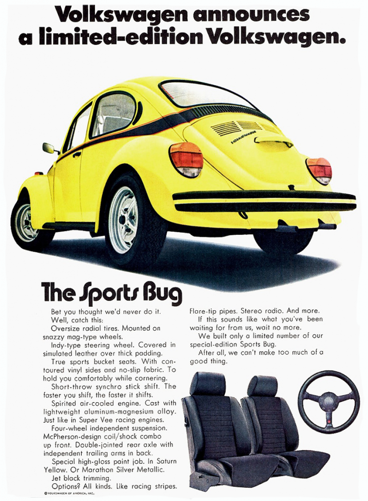1973 Volkswagen Beetle Sports Bug
