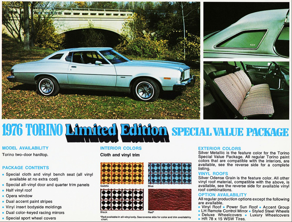 1976 Ford Torino Limited Edition