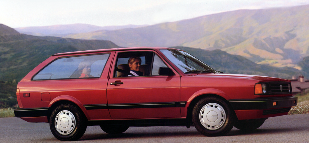 1987 Volkswagen Fox Wagon