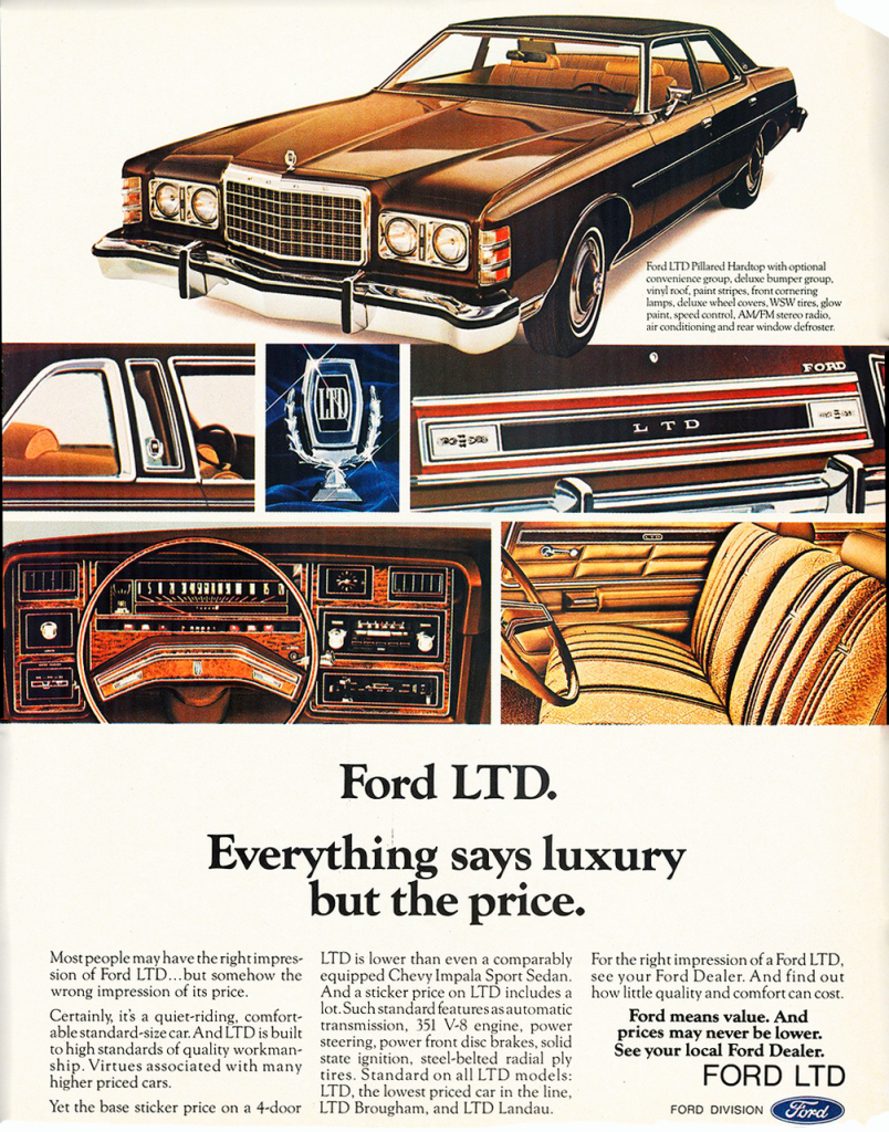 1975 Ford Ad