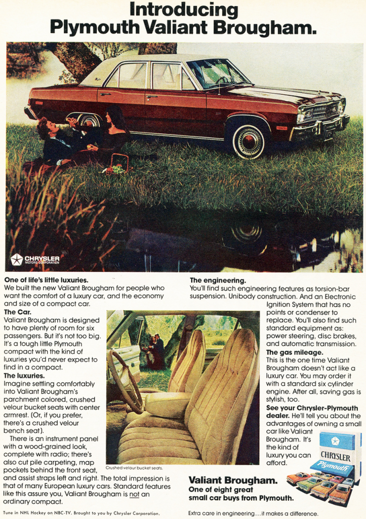 1974 Plymouth Ad