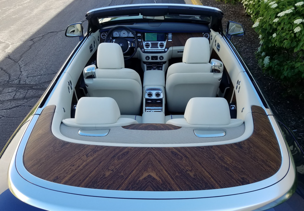 Rolls-Royce Dawn Wood Trim