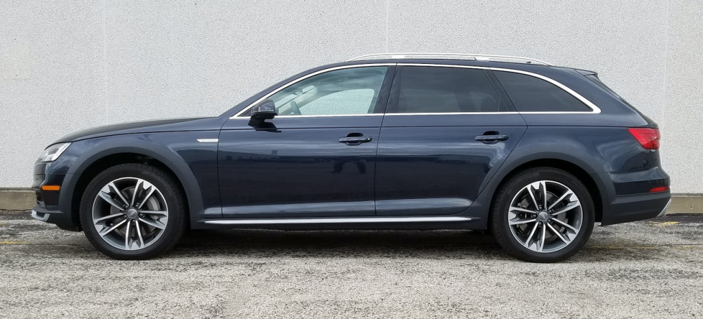 2017 Audi Allroad profile, blue