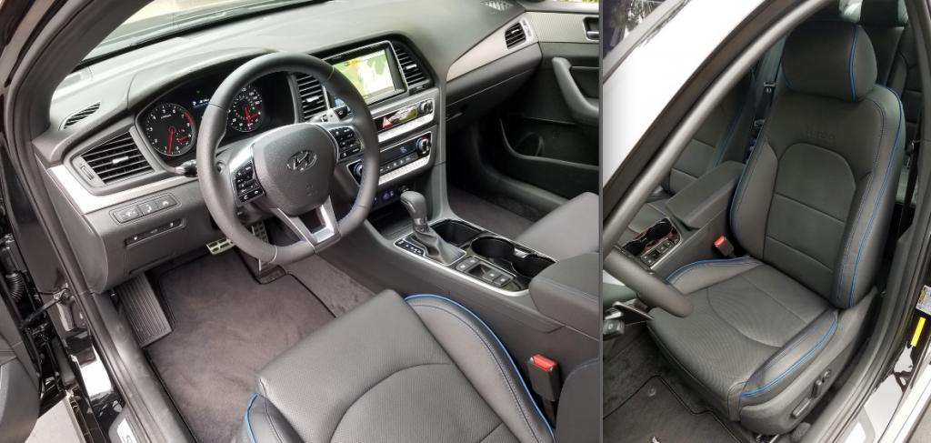 2018 Hyundai Sonata Cabin