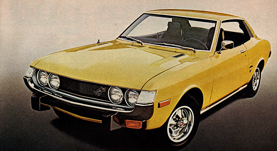 1974 Toyota Celica GT, 10 Classic Ads From 1974