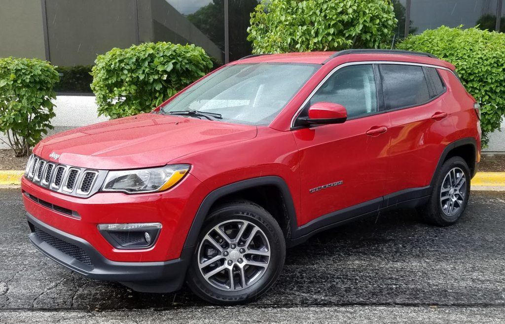 2017 Jeep Compass Lattitude in Redkline Pearl