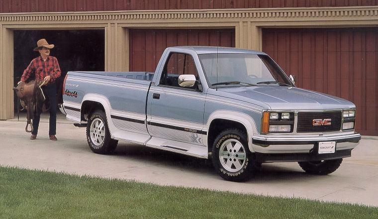 1991 Gmc Sierra >> The Half Ton Pickups Of 1991 The Daily Drive Consumer Guide The