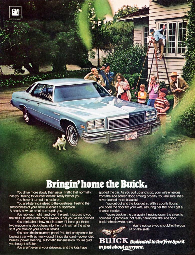 1976 Buick LeSabre Ad