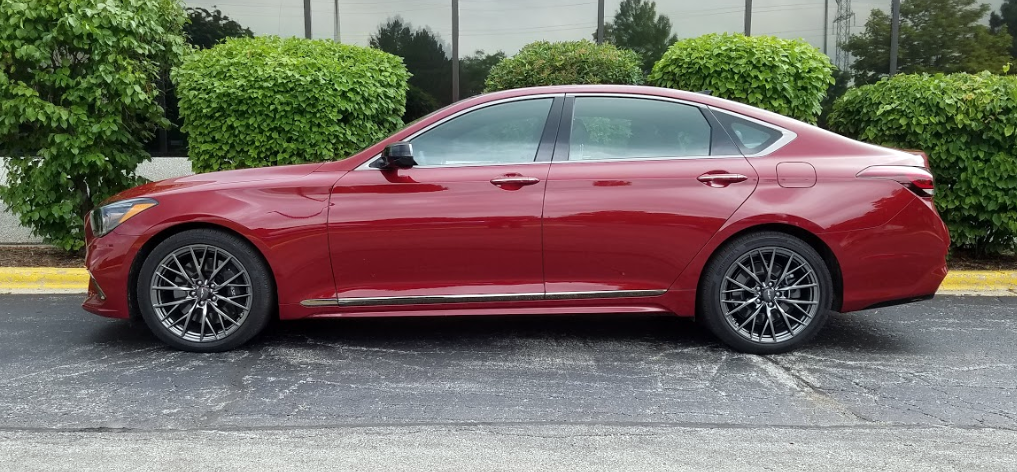 2018 Genesis G80 Sport AWD in Sevilla Red