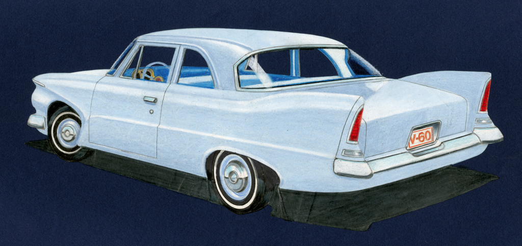1960 Plymouth Valiant Concept