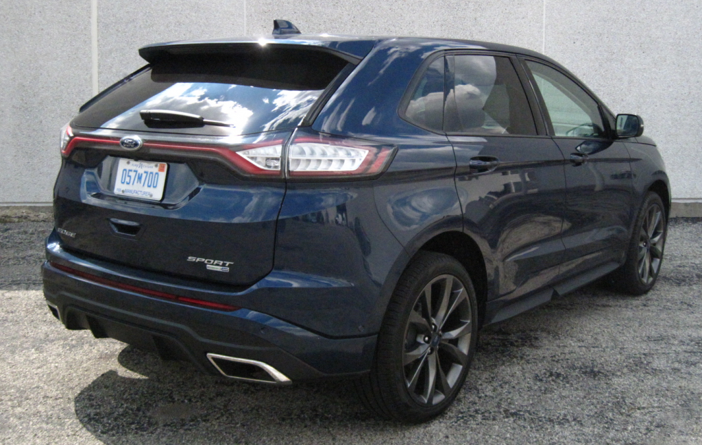2017 Ford Edge Sport, Blue Jeans Metallic