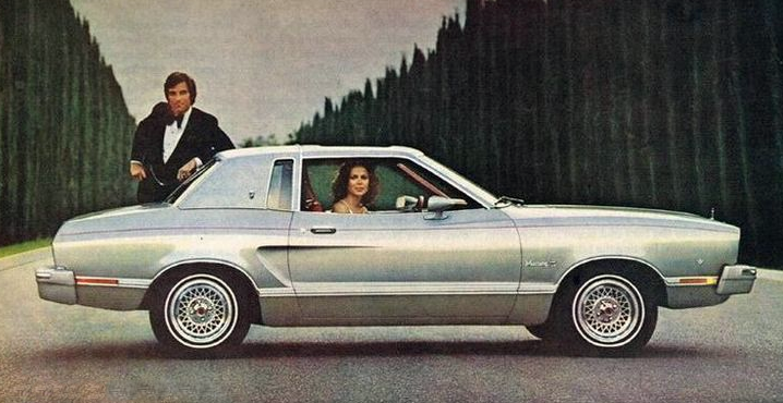 1975 Ford Mustang Ghia Ad, Vinyl Roofs