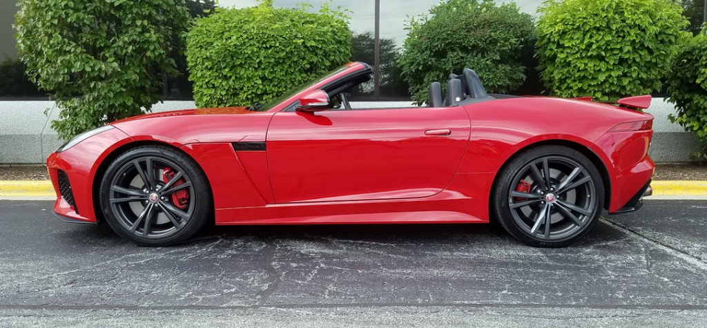 2017 Jaguar F-Type SVR Convertible in Caldera Red