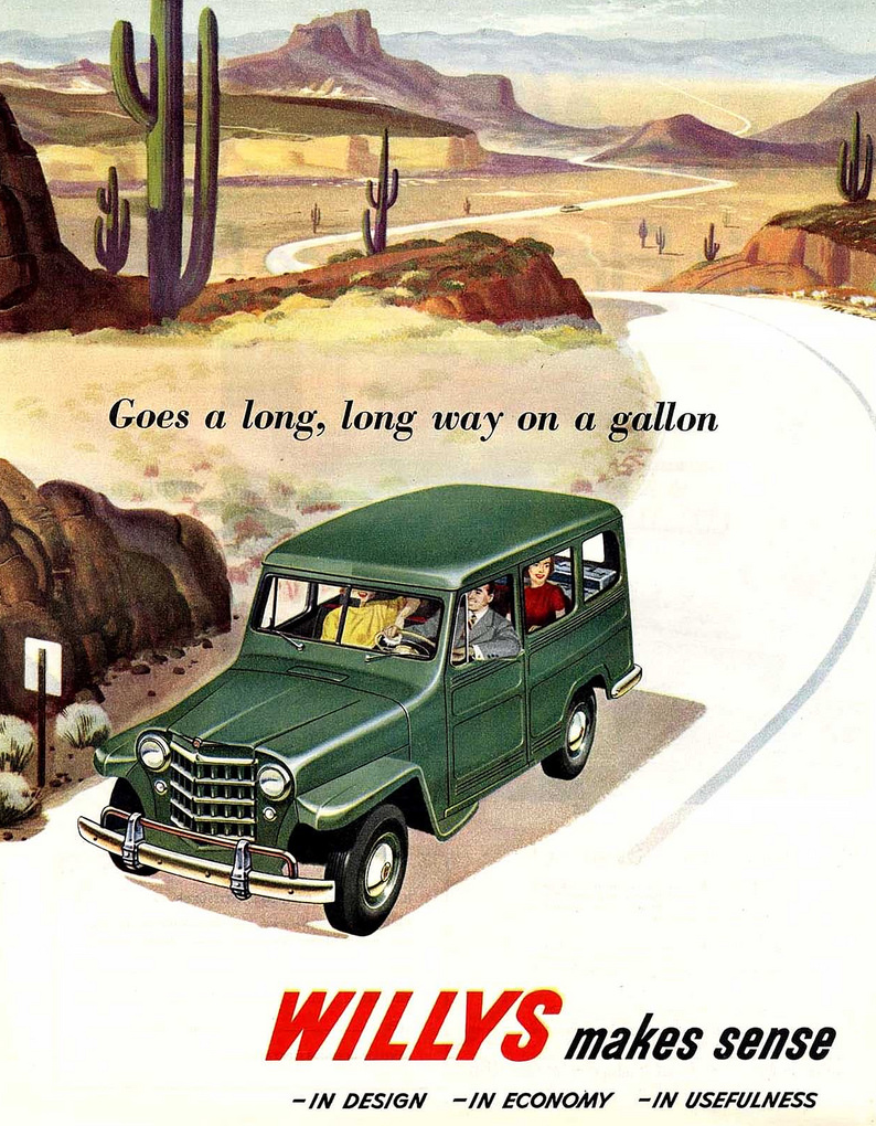 1950 Willys Ad