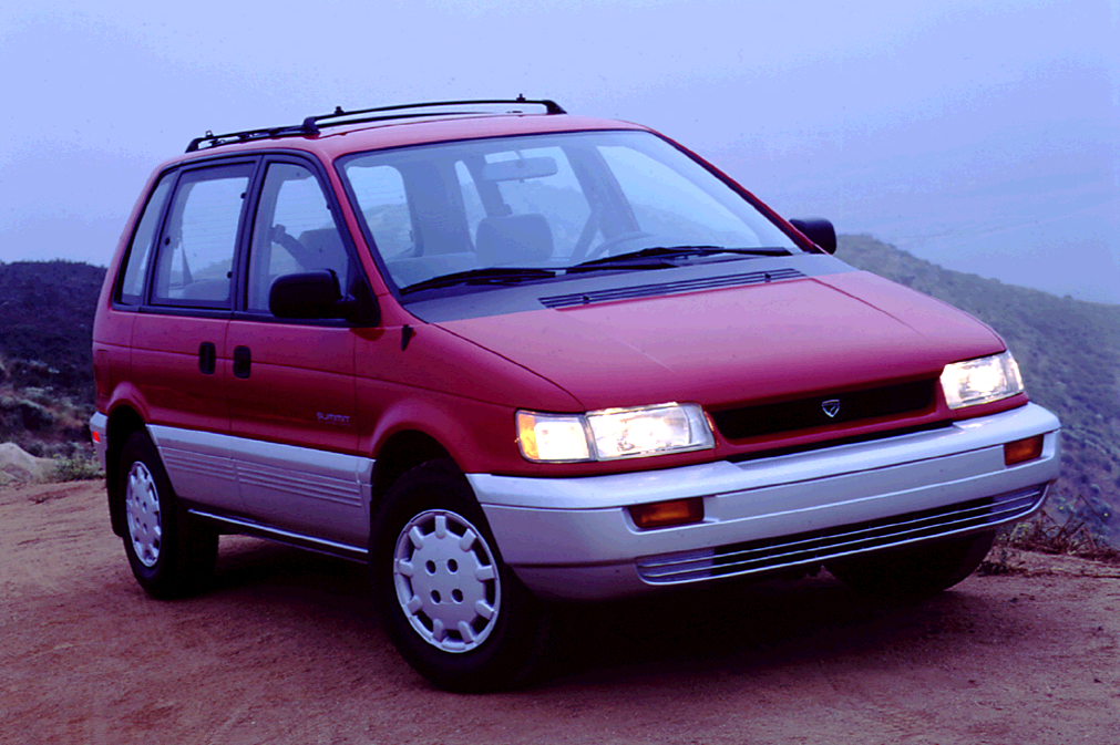 Forgotten Functionality: Recalling the 1994 Eagle Summit Wagon, Mitsubishi Expo, and Plymouth ...