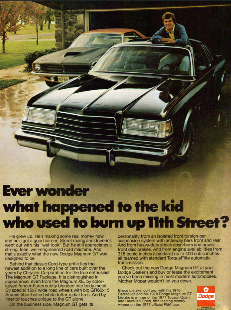 Model-Year Madness! 10 Classic Ads From 1978 | The Daily ...